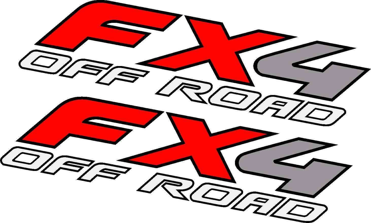 EZ CUT PRO 2X 2006 F250 FX4 Offroad Decals Stickers F Truck Super Duty Off Road Bed