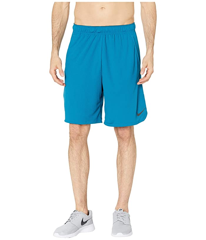 Nike Dri-FIT 9 Training Short (Green Abyss/Black) Men
