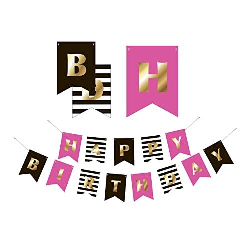 Premium Happy Birthday Banner Party Decorations