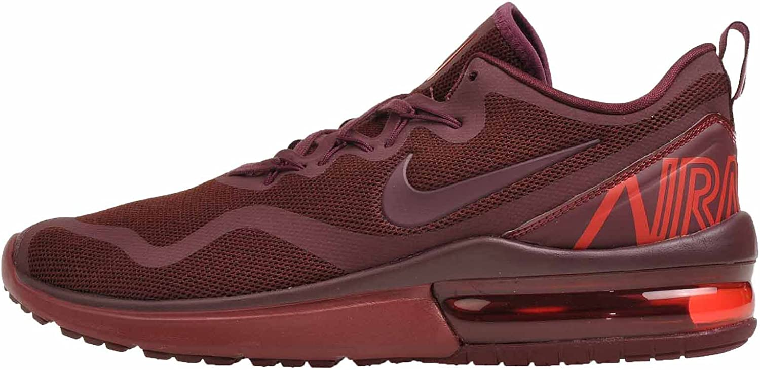 Nike Men's Air Max Fury, Dark Team Red Night-Maroon