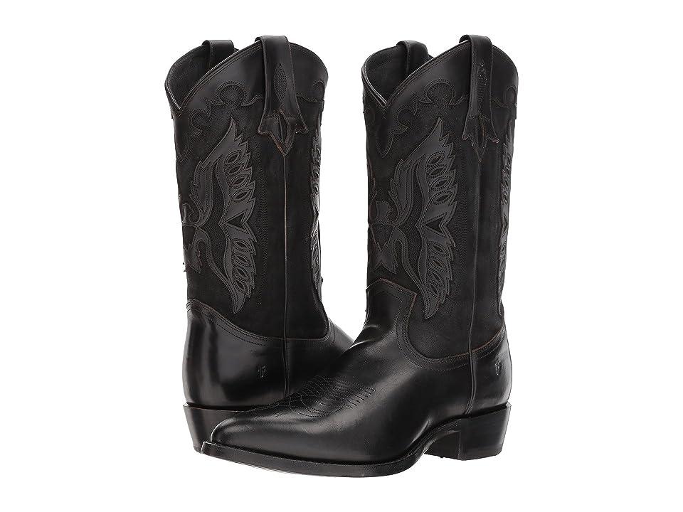 Frye Billy Firebird (Black) Cowboy Boots