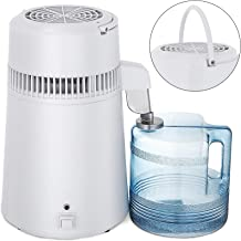 Mophorn Countertop Pure Water Distillation Purifier with Handle, 4L, 750W, White