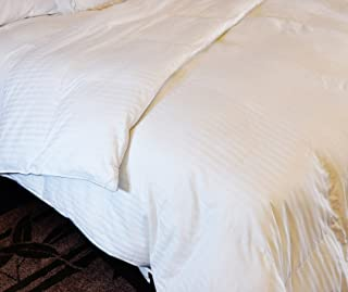 Natural Comfort Soft and Luxurious 300TC Sateen White Down Alternative Duvet Insert, Oversize King