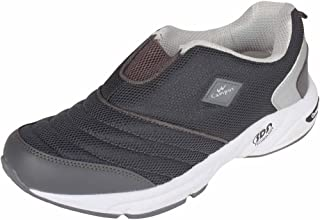 Campus Men's Dark Grey and Silver Casual Shoes (7UK)
