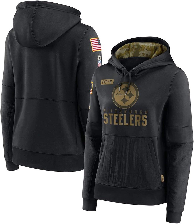 Suitable for Steelers 2020 Mens//Ladies Hoodie Keep Warm in Winter Lint Windshield Childrens Sweater Honor Until The Last Minute