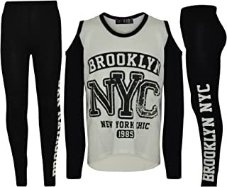 b413d4dcc72df A2Z 4 Kids® Enfants Filles Top Brooklyn NYC New York Chic 1985 Imprimer  Branché Top