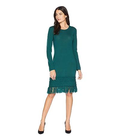 Trina Turk Over Ice Dress (Bottle Green) Women