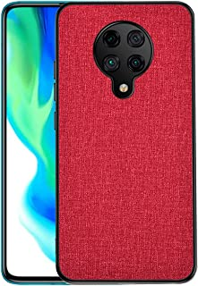 MYLBOO Compatible with for Xiaomi Poco F2 Pro Case with Fabric Back Cover All-Inclusive shatterproof Hard Shell Silicone S...