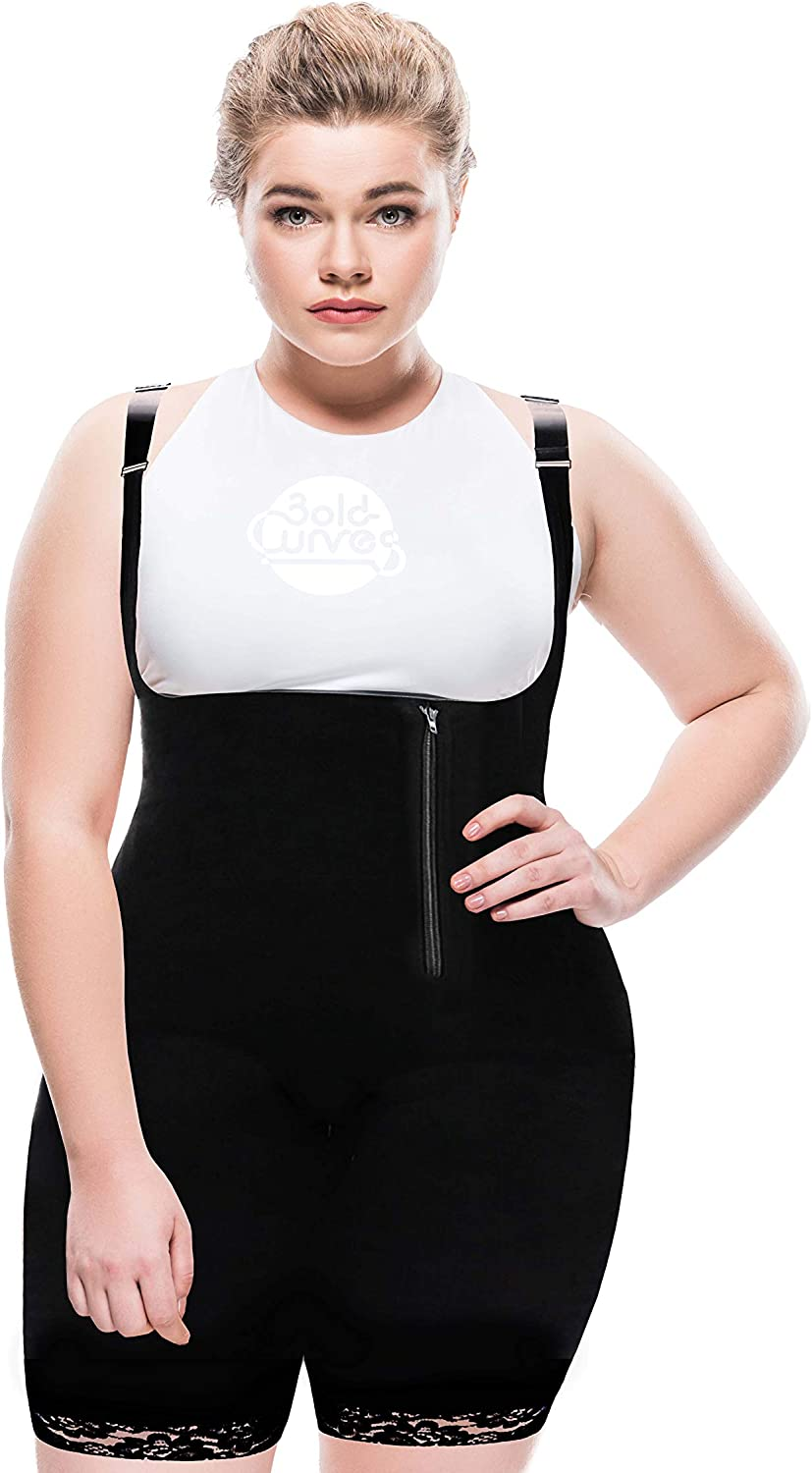 BoldShapes Shapewear Online limited product Black Body Shaper for New product! New type S Size - Women Plus