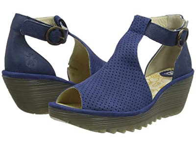 FLY LONDON YALL962FLY (Blue Cupido/Mousse) Women