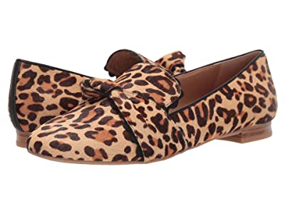 Jack Rogers Holly Haircalf Loafer (Leopard Print) Women