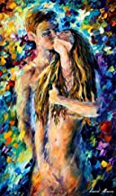 Erotic Fine Art Sex Oil Painting On Canvas By Leonid Afremov Studio - Moment of Passion