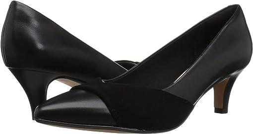 Black Leather/Nubuck Combi
