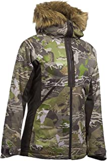 Under Armour Women's Infrared UA Siberian Insulated Hooded Winter Camo Jacket