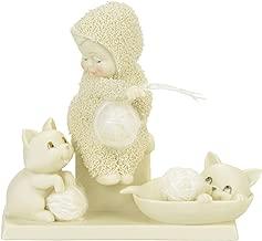 "Department 56 Snowbabies ""Fur Balls"" Porcelain Figurine, 4.25"""