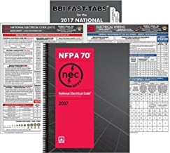 NFPA 70 2017: National Electrical Code, NEC, Spiralbound, NEC Fast Tabs, NEC Quick Card and Electrical Wiring Quick Card, 2017 Edition, Package