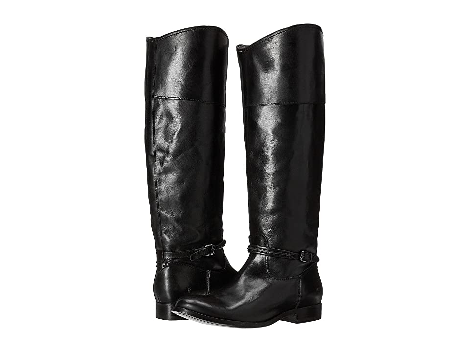 Frye Melissa Seam Tall (Black Extended) Women's Pull-on Boots