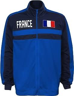 International Soccer France Men's Outerstuff Track Jacket, Team color , Medium