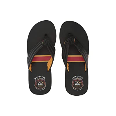 Quiksilver Reclipsed MWRM (Black/Yellow/Red) Men