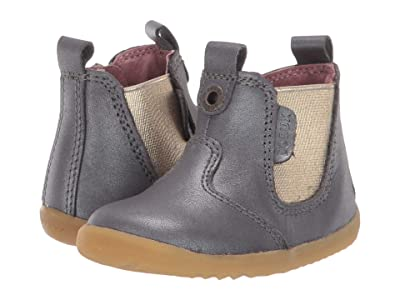 Bobux Kids Step Up Jodhpur Boot (Infant/Toddler) (Charcoal Shimmer) Girl