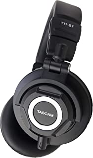 Tascam Studio Headphones (TH-07) 耳道式/入耳式 黑色