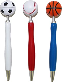 Inkology Sports; Spinner Ballpoint Retractable Pen, 095-2PDQ