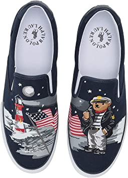 Navy Multi Bear Lengths Canvas II