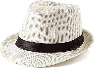 Fedora Hat Mens Fedora Hats for Men Trilby Hat Wool or Straw Sun Hat Panama Hat