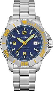 DELMA - Blue Shark III Reloj para Hombre Analógico de Cuarzo con Brazalete de Acero Inoxidable 41701.700.6.044