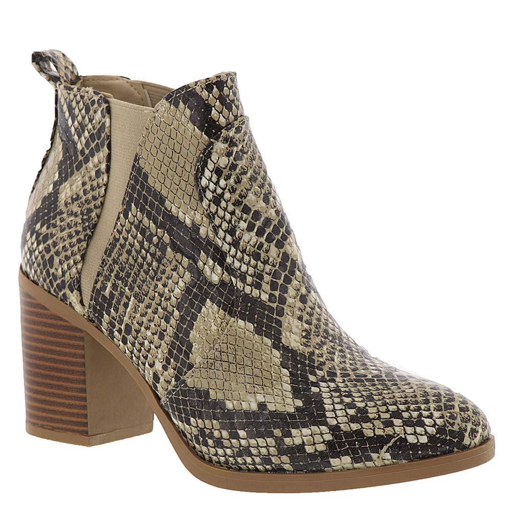 MIA Julissa Womens Boot Beige Snake