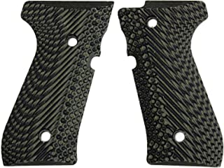 StonerCNC Beretta 92 Gun Grip Slash and Burn G10 Fits 92FS/96 M9 Series Pistol