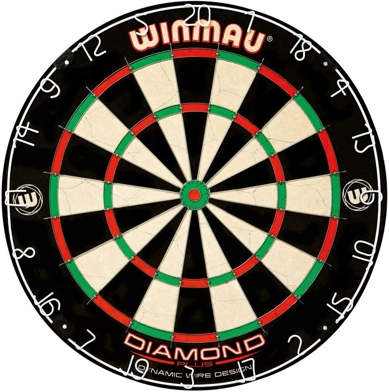 Dallas Mall WINMAU Diamond Large-scale sale Plus Professional Bristle Dartboard