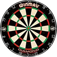 Winmau Diamond Plus Tournament Bristle Dartboard with Staple-Free Bullseye for Higher Scores and Fewer Bounce-Outs (Fоur Расk)