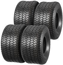 MaxAuto Turf Master Lawn & Garden Tires 20x10-8 20x10x8 4PR Load Range B,Set of 4