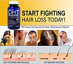 PHYTO LIFE Prevent Hair Loss DHT Blocker with Pure Saw Palmetto Oil Keratin Research USA