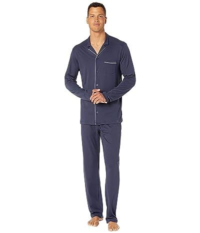 Hanro Night Day Long Sleeve Long Pajama Set