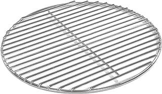 Grillrost Durchmesser 40 cm aus Edelstahl rostfrei und elektropoliert 4mm für Grill rund, Kugelgrill, Feuerschalen Grillschalen Rundgrill