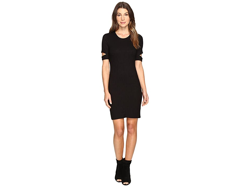 LNA Mini Esso Dress (Black) Women