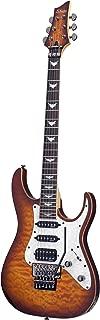 Schecter 6 String Solid-Body Electric Guitar, Vintage Sunburst (1993)