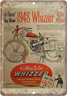 1948 Whizzer Bike Motor Vintage Motorcycle Ad 12