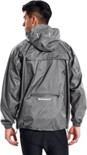 Baleaf Unisex Rain Jacket Packable Outdoor Waterproof...