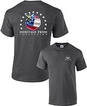 Heritage Pride Georgia Peach Patriotic Adult T-Shirt