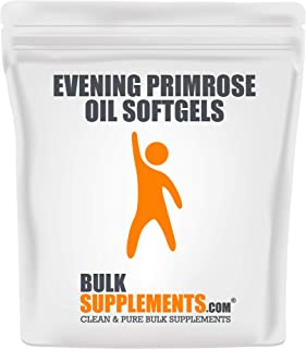 Sponsored Ad - Evening Primrose Oil Softgels (1000 mg) by BulkSupplements | Women's Health & Skincare (300 softgels)