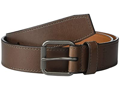 Shinola Detroit 1 1/2 Mack Belt Smooth Grain Leather GM (Brown) Men
