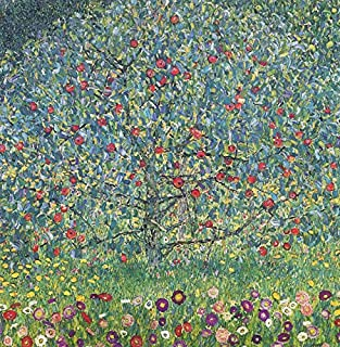 The Apple Tree I by Gustav Klimt. Wall Decal - Peel & Stick, Removable (24