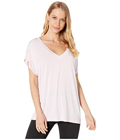 Hard Tail Slouchy V-Neck Short Sleeve Tee (Tulip) Women