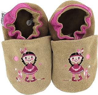 Chaussures premiers pas/Chaussons Bébé en cuir doux HOBEA-Germany - unicolore, différentes couleurs, taille chaussures:20/...