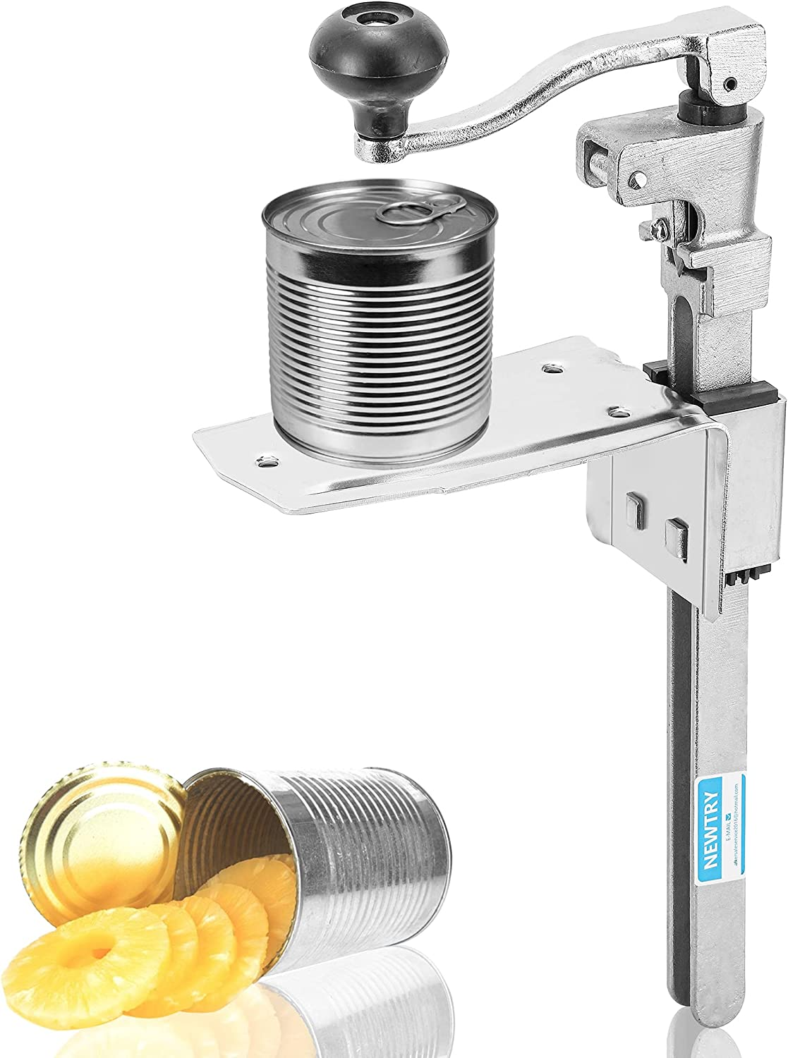 NEWTRY Commercial Tin Can Opener Manual Canning El Paso Mall Max 62% OFF Professional Bot