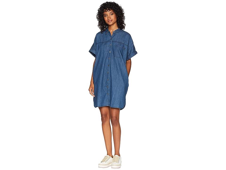 Volcom Yo Shortie Dress (Flight Blue) Women