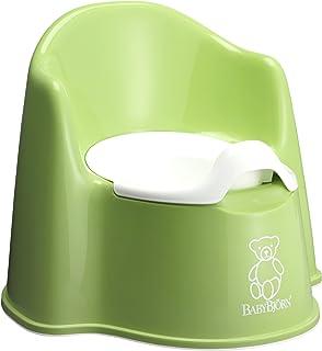BABYBJORN 马桶椅 绿色/白色